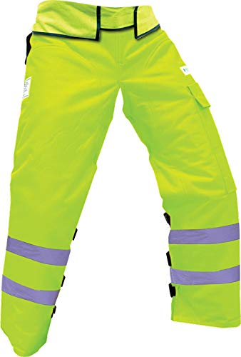 Forester ANSI/ISEA 107-2010 Class E Safety Green Wrap Around Chaps