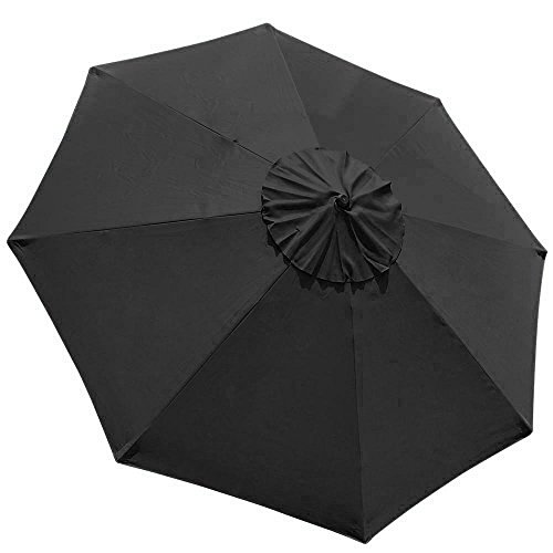 Patio Table Umbrella Replacement Canopy: Elite Shade 9feet Replacement Patio Umbrella Cover 9feet