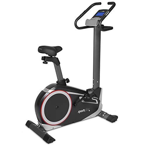 🥇 SportPlus SP-HT-9600-iE Bicicleta Estática con Aplicación para Smartphone