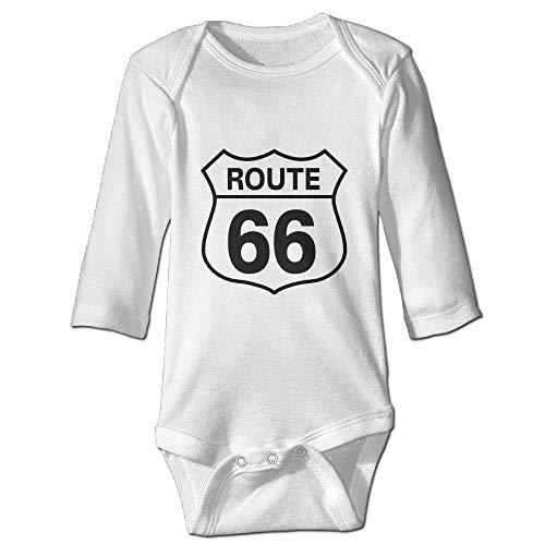 Binfldg Route 66 Long Sleeve Baby Romper