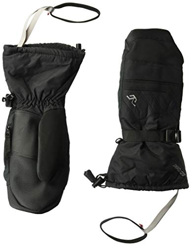 Gordini Men's Men's Stomp Iv Waterproof Insulated Mittens, Black, - Gauntlet Aquabloc Down Glove
