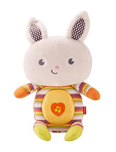 Fisher-Price Tiny Garden Sweet Sounds Bunny, Multicolor