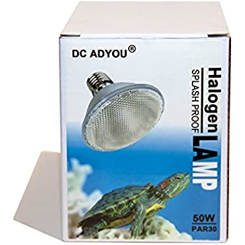 Amazon Com Dc Adyou Turtle Heat Lamp Bulb Splash Proof