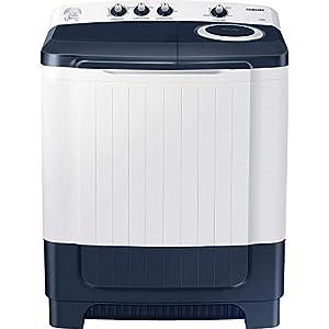 Samsung 8.5 Kg Semi-Automatic Top Loading Washing Machine (WT85R4000LL/TL, Light Grey)