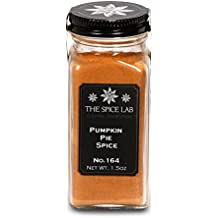 The Spice Lab No. 164 - Pumpkin Pie Spice - Kosher Gluten-Free Non-GMO All Natural Spice - French Jar