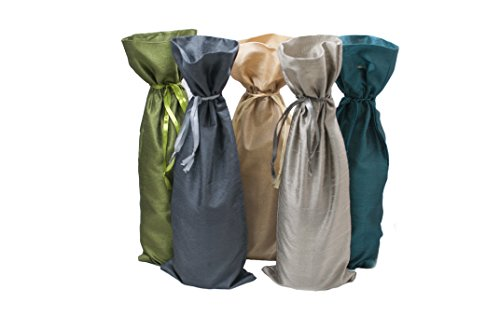 Metallic Wine Bags - 4