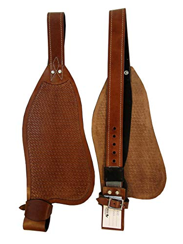 Custom Leather Western Horse Saddle Roping Trail Barrel Fender Replacement