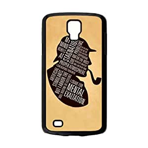 Custom Hot TV Series Sherlock Unique Style Plastic Phone Cover For Samsung Galaxy S4 Active i9295 Cases