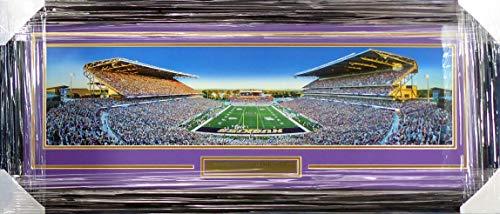 University Of Washington Huskies Unsigned Framed Panoramic Photo With Nameplate Stock - Panoramic Photo University