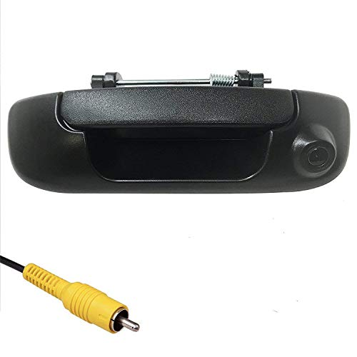 Master Tailgaters Replacement for Dodge Ram 2002-2008 Black Tailgate Handle with Backup Camera ()