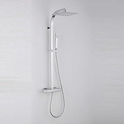 Columna de ducha ECOLÓGICA termostática PANI, con tecnología Air+ ...