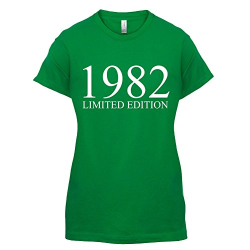 1982 Limierte Auflage / Limited Edition - 35. Geburtstag - Damen T-Shirt - Grün - S