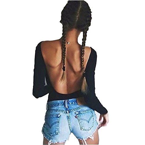 mangopop-sexy-black-backless-long-sleeve-bodysuit-jumpsuits-s