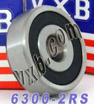 10x35x11 Sealed Vxb Ball Bearings (6300-2RS Sealed Bearing 10x35x11 Ball Bearings)
