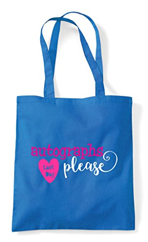 Day Last Please Sapphire Autographs Shopper Tote Bag Z0rZw