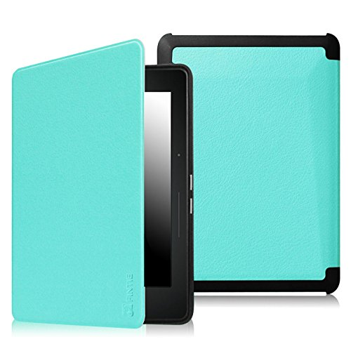 promo code 4a54e a6c8a Fintie SmartShell Case for Kindle Voyage - [The Thinnest and ...