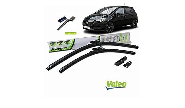 Valeo_group Valeo Juego de 2 escobillas de limpiaparabrisas Especiales para Opel Corsa D/Y | 650/400 mm |: Amazon.es: Coche y moto