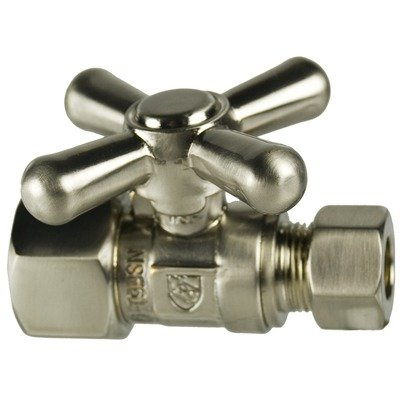 (Mini Cross Handle IPS Straight Valve with 0.5