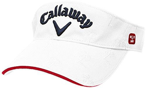 (キャロウェイ アパレル) Callaway Apparel [ メンズ] 速乾 サンバイザー (サイズ調整) / 241-8184514 / 帽子 ゴルフ