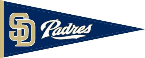 Nfl Pennant Wool - MLB San Diego Padres Medium Pennant