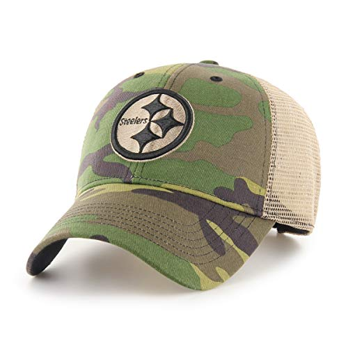 - OTS Adult NFL Men's Nameplate Star Adjustable Hat, Team Color, One Size