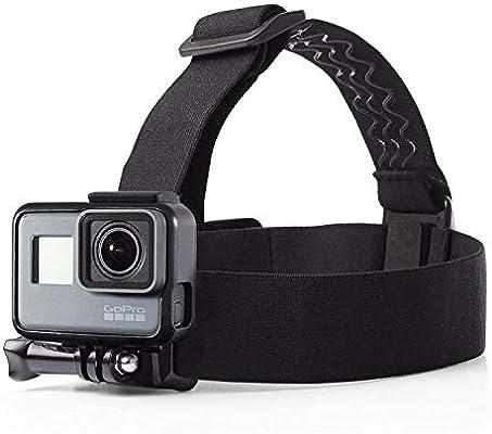 AmazonBasics - Montura con correas para cabeza para cámara GoPro ...