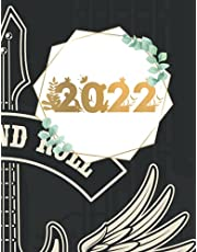 """2022: Weekly Planner 2022 Daily Agenda Appointment Calendar Schedule Organizer Logbook for 2022 