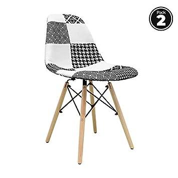 regalosMiguel - Packs Sillas - Pack 2 Sillas Tower Patchwork ...