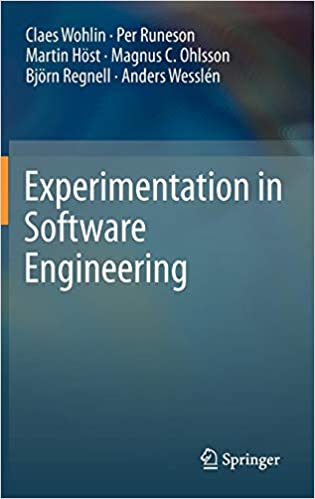 Experimentation in Software Engineering - Livros na Amazon Brasil