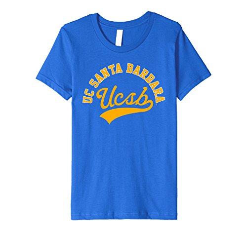 Kids UC Santa Barbara UCSB Gauchos NCAA T-Shirt SC60ucsb 10 Royal (Santa Youth T-shirt)