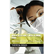 Advance Your Dental Assistant Career: Do's & Don's along with real stories in my career to share with others and great money saving tips, I wished I had know when I started my career. Want to EFDA?