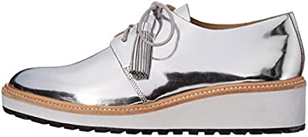 2cba74745af Loeffler Randall Women's Callie Oxford, Silver, 5.5 B US: Amazon.com ...