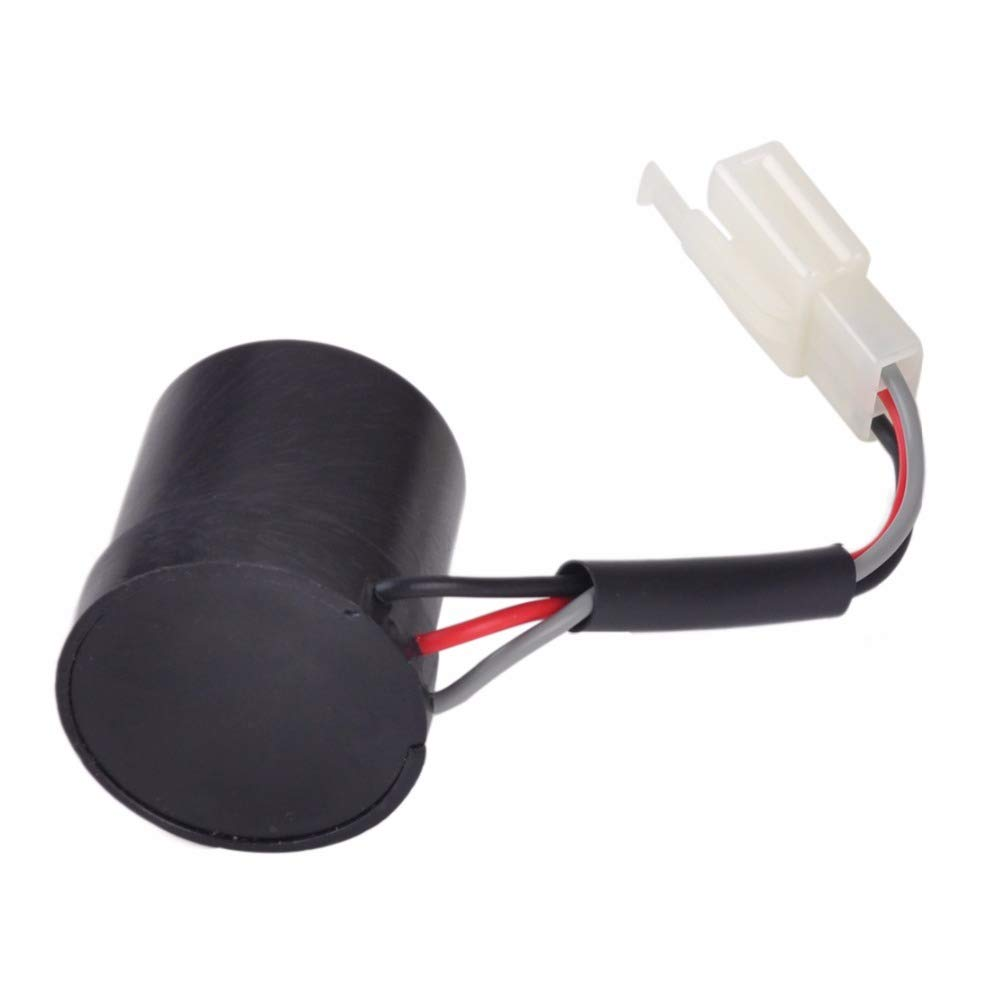 XuBa 3 Wire 3 Pin Round Turn Signal Relay Blinker Flasher for GY6 50cc 60cc 80cc 125cc 150cc