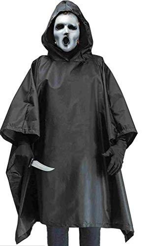 Fun World Men's MTV Scream Costume, Black, Standard -