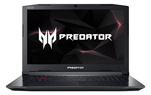 Acer Predator Helios 300 PH317-52-77A4 Gaming Laptop, Intel Core i7-8750H, GeForce GTX 1060 Overclockable Graphics, 17.3