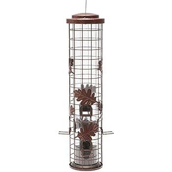 Perky-Pet Squirrel-Be-Gone Cylinder Wild Bird Feeder