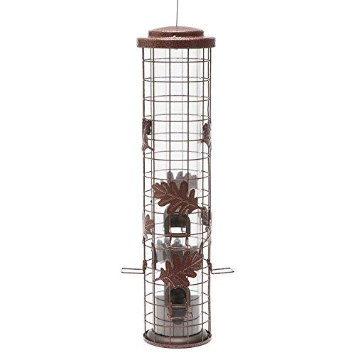 Perky-Pet Squirrel-Be-Gone Cylinder Wild Bird Feeder Cylinder Feeder