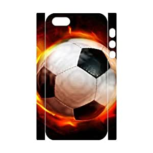 ALICASE Diy Customized Case Football 3D Case for iPhone 5,5S [Pattern-1]
