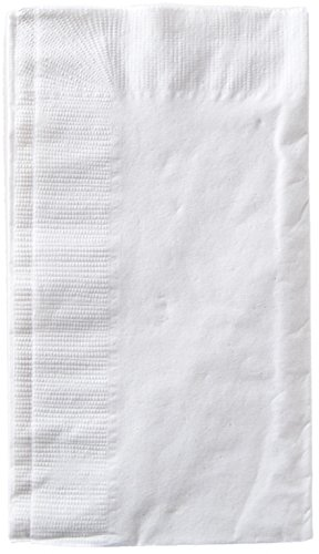 Eco-Products 19835200 Dinner Napkins Disposable, White