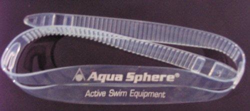 Aqua Sphere - Silicon Ersatzband für Schwimmbrillen (klar)