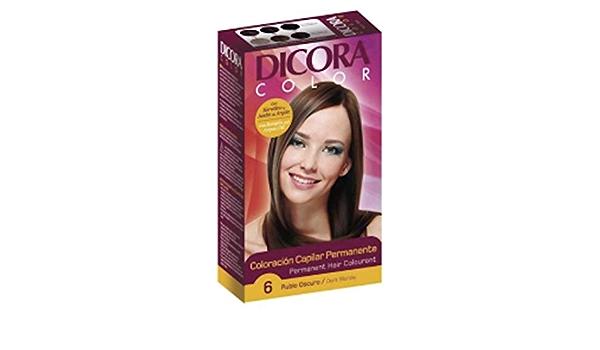 Dicora Tinte Color 6 Rubio Oscuro 200 g: Amazon.es