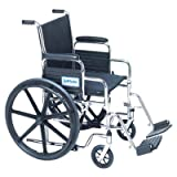 "Venture Light Hemi Wheelchair 20""W x 16""D with Swingaway Footrests"