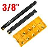 RedLine Tools Bore .4000 Max Carbide Boring Bar .2000 Min - RBB101280A AlTiN Coated .2500 Shank Dia Depth 2.5000 OAL