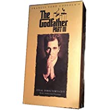 The Godfather Part III Final Director's Cut with Additional Footage VHS