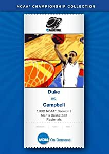 1992 NCAA(r) Division I  Men's Basketball Regionals - Duke vs. Campbell