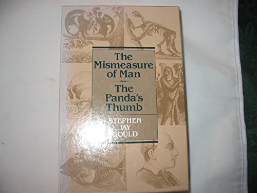 The Mismeasure of Man / The Panda's Thumb (Boxed Set)