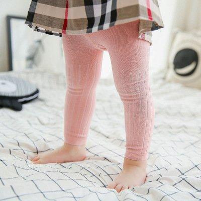 0-6 Mois chaud et confortable 3pc//lot B/éb/é Leggings filles et gar/çons Cotton m/élang/é Pantalon tout-match de couleur unie