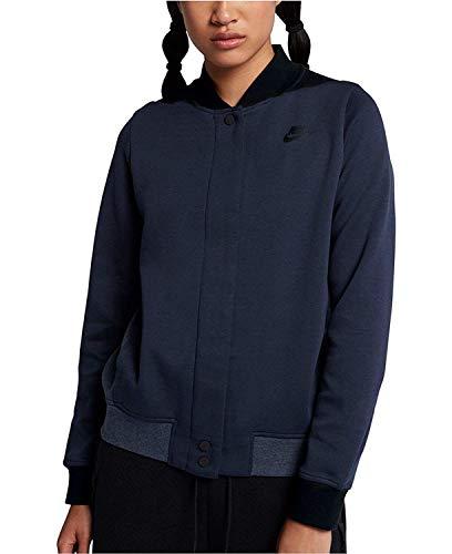 Nike Women's Sportswear Tech Fleece Destroyer Jacket Obsidian/Black XL