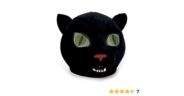 DELUXE BLACK PANTHER HEAD HELMET MASK Halloween Scary Animal Headpiece 26422