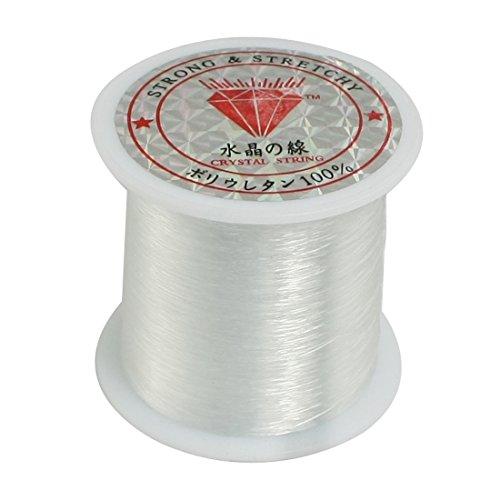 0.2mm Diameter Clear Nylon Fish Fishing Line Spool Beading String by Como